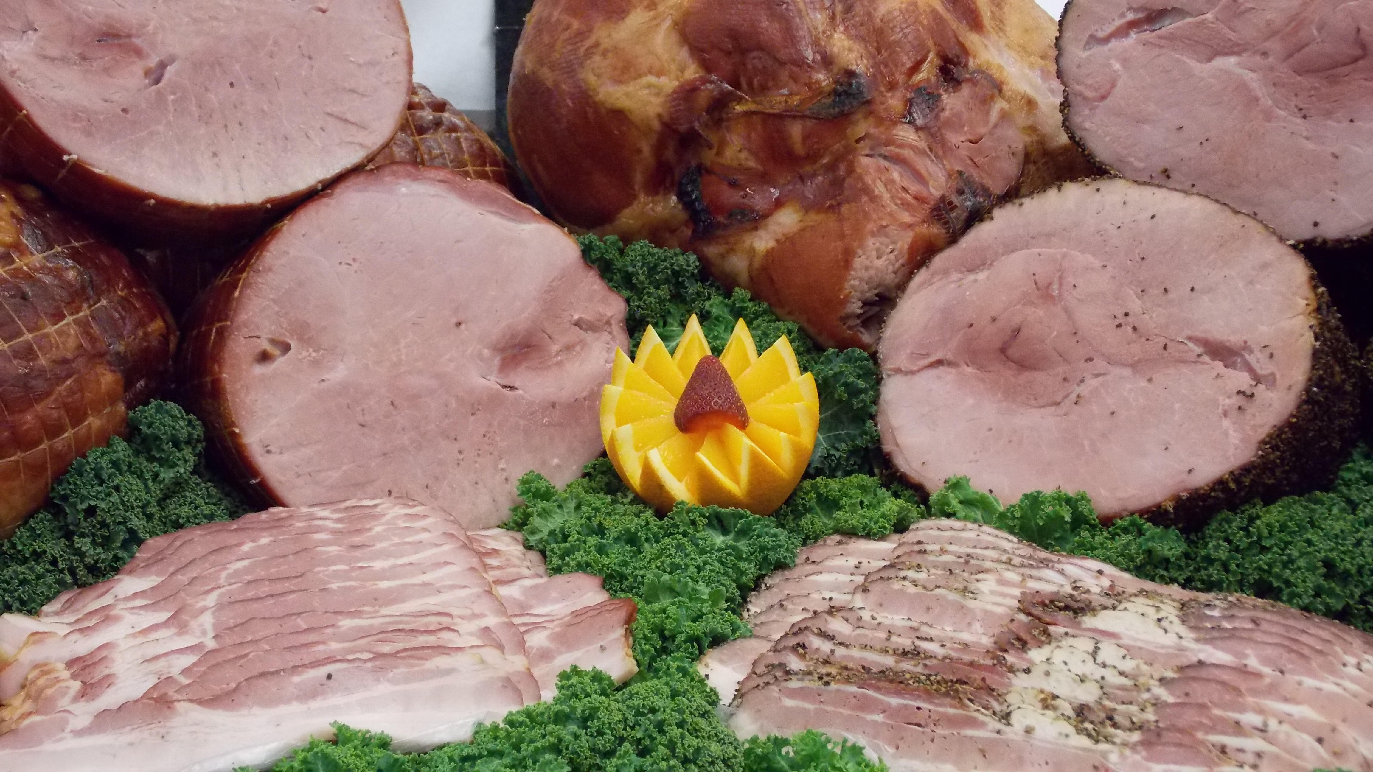Gartner�s Meats � Smoked Hams and Bacon